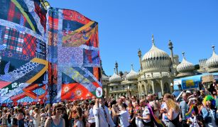28 April - 1 July 2018, Protesting for Diversity @ People's History Museum. The New Union Flag at Pride, Brighton © Gil Mualem-Doron