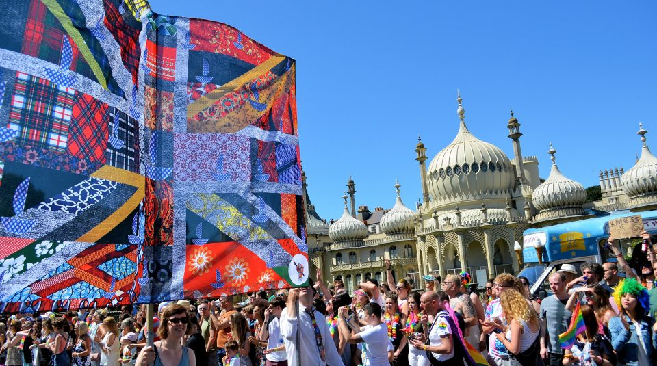28 April   1 July 2018, Protesting for Diversity @ People's History Museum. The New Union Flag at Pride, Brighton © Gil Mualem Doron