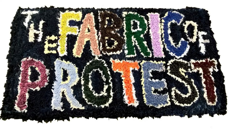 7 July - 9 September 2018, The Fabric of Protest exhibition @ People's History Museum © The Fabric of Protest group