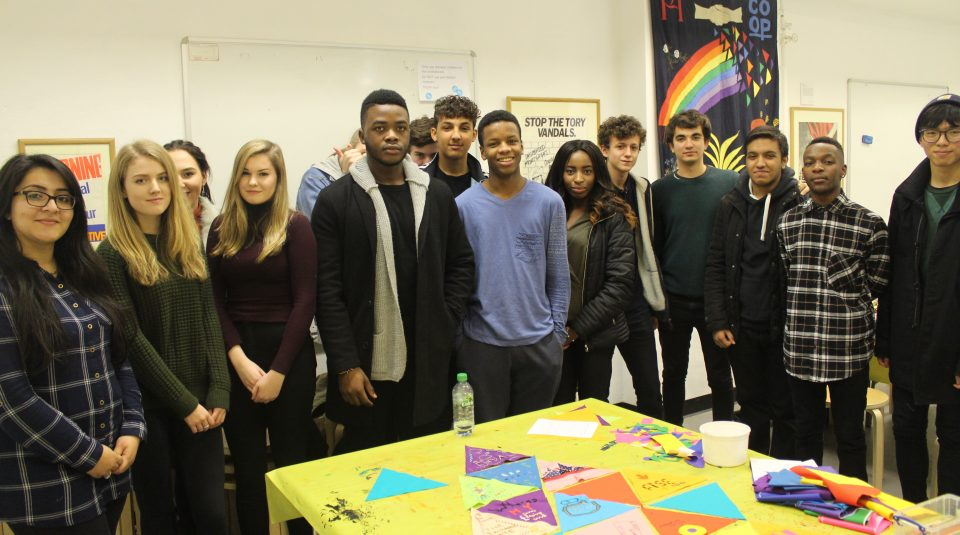 Artist-led workshop @ People's History Museum