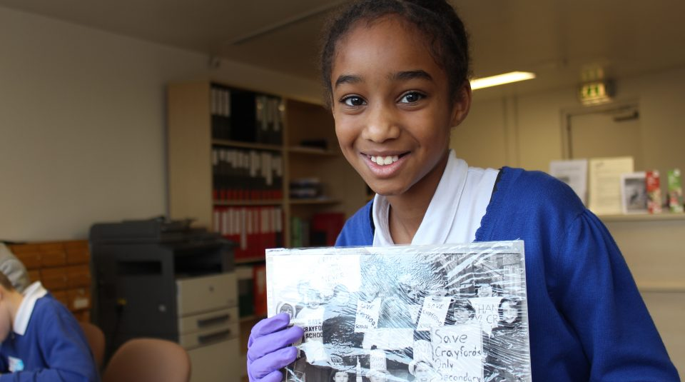 Primary school archive visit @ People's History Museum