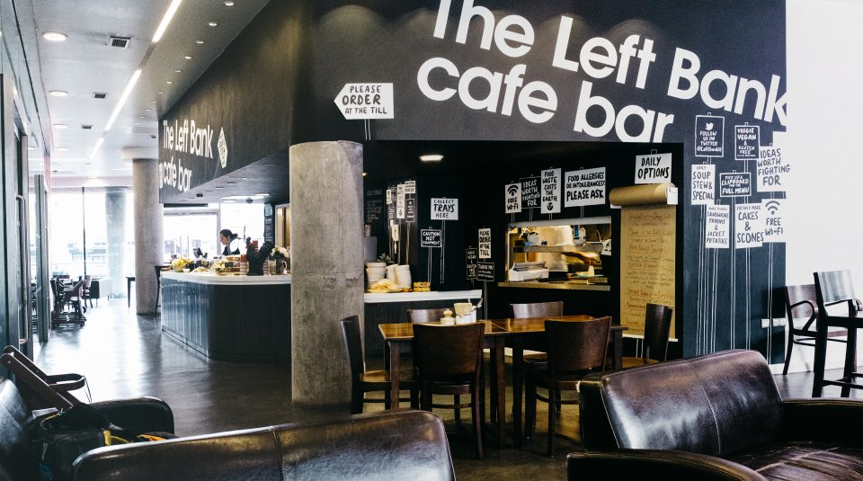 The Left Bank cafe bar @ People's History Museum