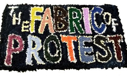 7 July to 9 September 2018, The Fabric of Protest exhibition @ People's History Museum © The Fabric of Protest workshop participants