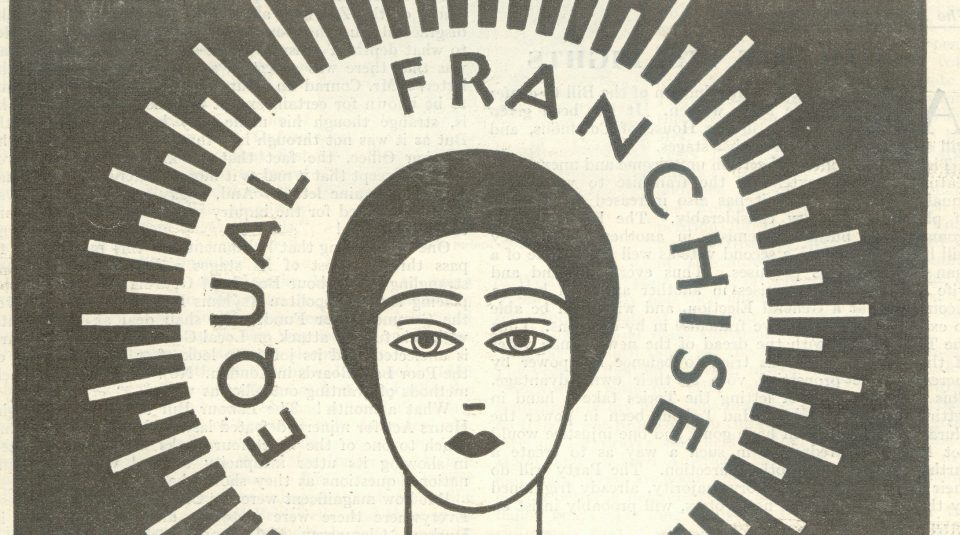 11 October 2018, Fawcett Society Centenary Celebration @ People's History Museum. Detail From The Labour Woman Journal front cover, April 1928