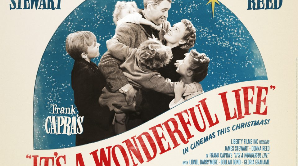 13 December 2018, Festive Cinema, It's A Wonderful Life @ People's History Museum. Film Poster, 1946