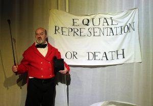 Living History performance, Peterloo @ People's History Museum