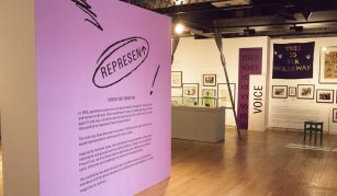 10 January 2019, Represent! Voices 100 Years On guided tour @ People's History Museum