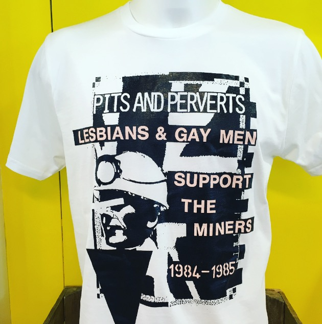 LESBIAN AND GAY SUPPORT THE MINERS MERCH