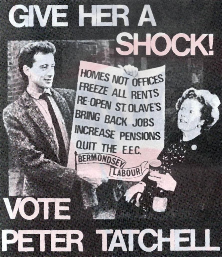 Tatchell vs Thatcher © Peter Tatchell