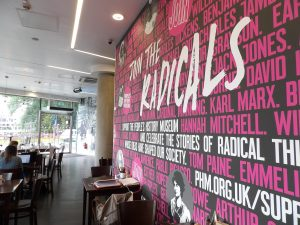 Join the Radicals wall at The Left Bank cafe bar @ People's History Museum