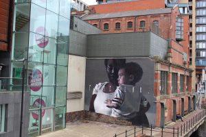Axel Void, Peterloo. mural (2018) @ People's History Museum