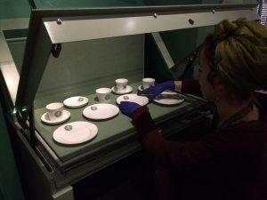 Rose Lamartine Yates tea set going on display @ People's History Museum