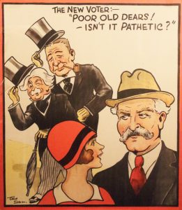 The New Voter poster, 1929 @ People's History Museum