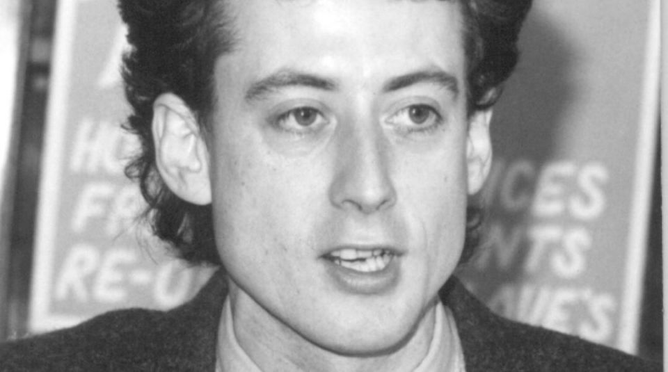 Peter Tatchell in 1983 campaigning in Bermondsey copyright Peter Tatchell