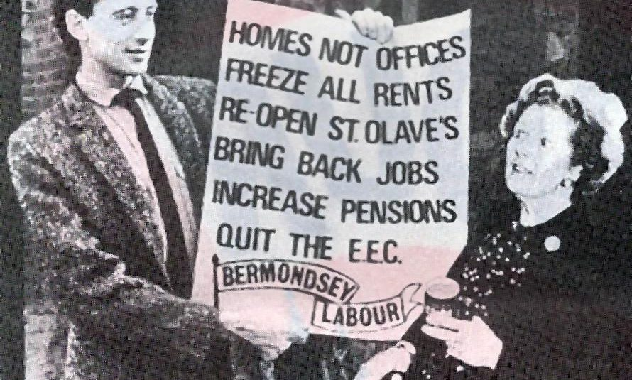 1983 Bermondsey by-election campaign leaflet © Peter Tatchell