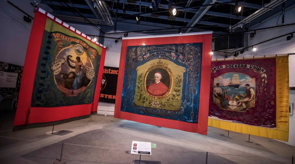 2019 Banner Display - People's History Museum: The national museum