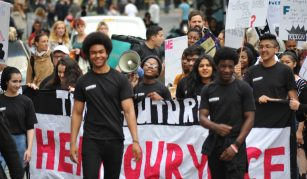 14 March 2019, Act Now! RECLAIM Radical Late Takeover @ People's History Museum. People's Protest, 15 August 2014 © RECLAIM