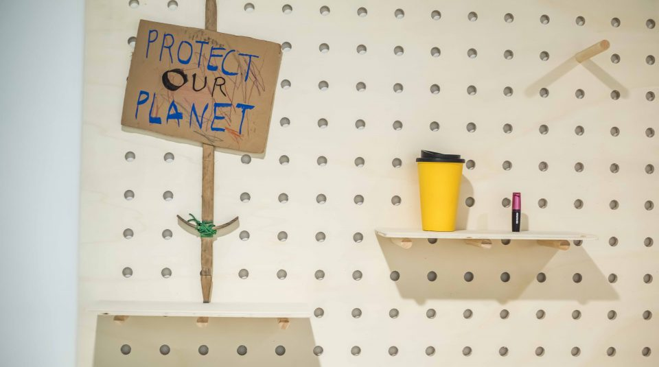 23 March 2019 - 23 February 2020, Protest Lab objects in Disrupt? Peterloo and Protest exhibition © People's History Museum