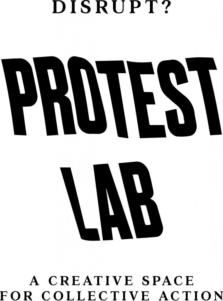 Protest Lab in Disrupt? Peterloo and Protest exhibition