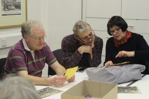 Handling objects on a WEA Course @ People's History Museum