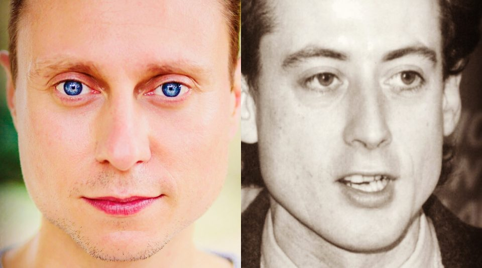 Left to right Nathan Morris, Peter Tatchell