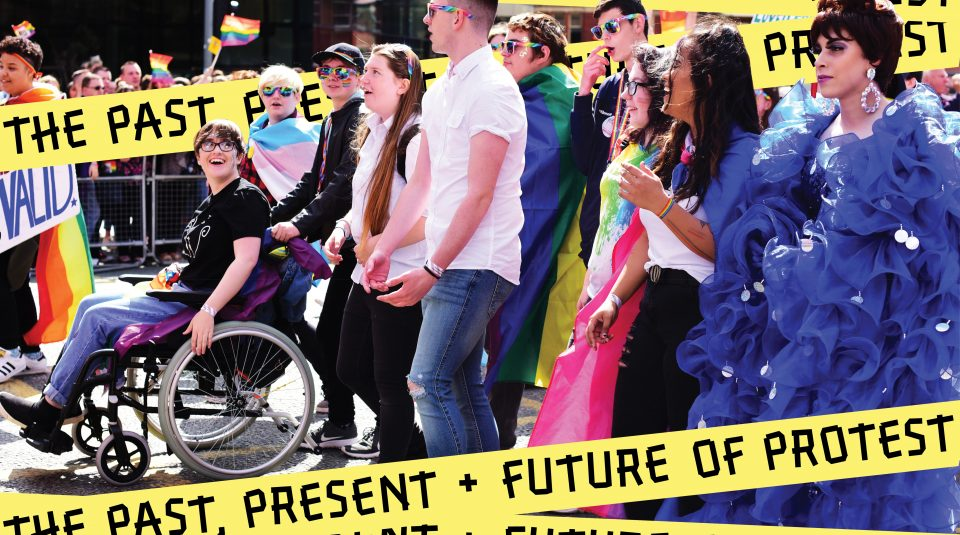 Manchester Pride, 25 August 2018. Photo © The Proud Trust. The Past, Present + Future of Protest @ People's History Museum