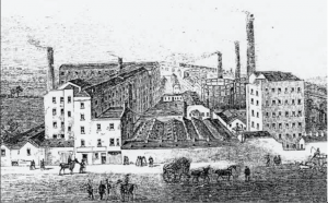 Chorlton Mill, unknown artist