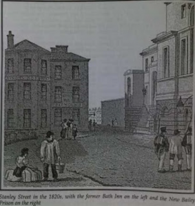 Lying in Hospital 1820 © Salford Pubs, Part One by Neil Richardson (Bath Inn)