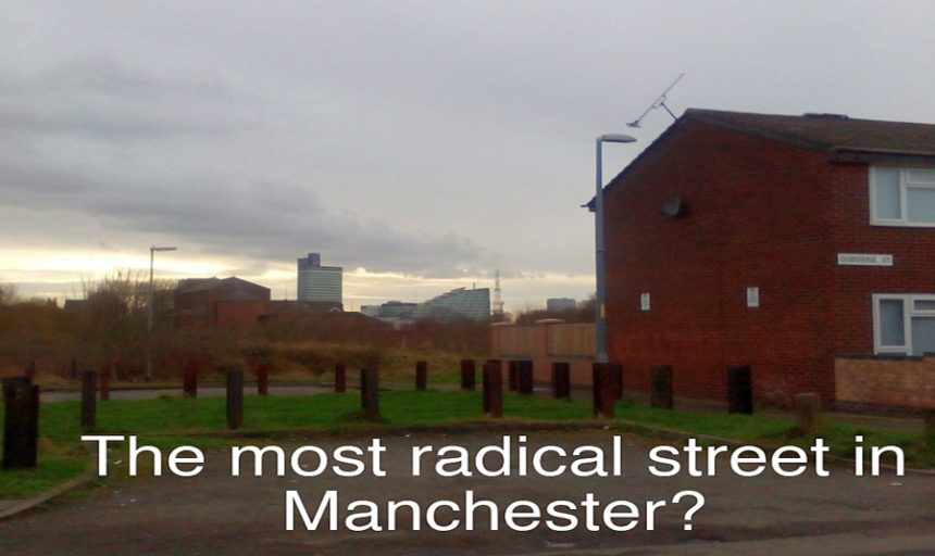 20 July - 22 September 2019, The Most Radical Street in Manchester? exhibition @ People's History Museum. Osborne Street, Collyhurst © Katrina Navickas