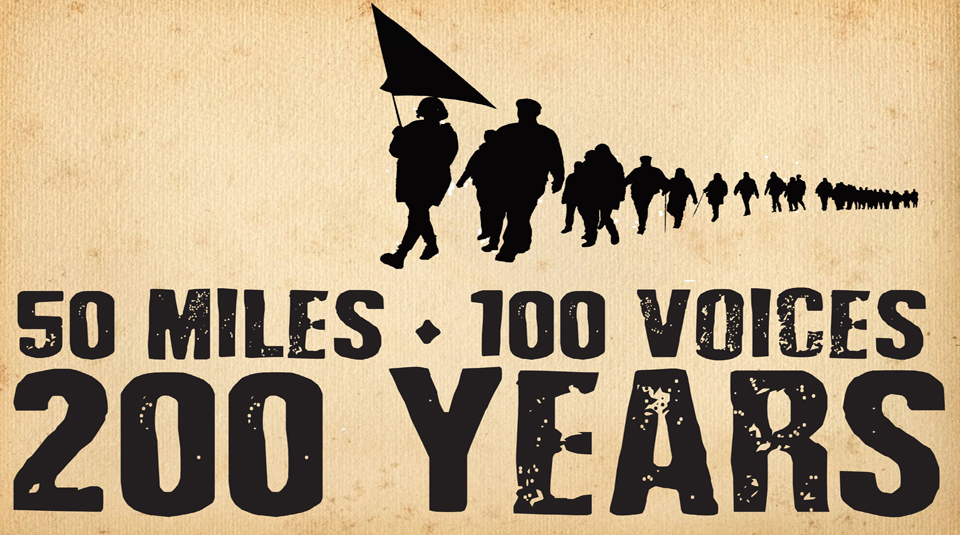 7 July 2019, 50 miles, 100 voices, 200 years @ Peoples History Museum © Commoners Choir