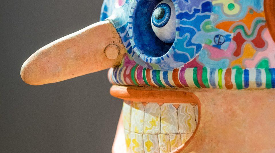 Brave Boy Billy sculpture (detail) © Jason Wilsher-Mills