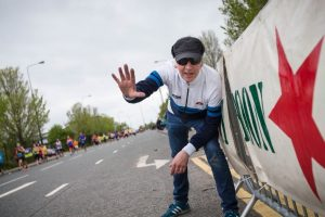 Clint Boon's Boon Army Stage © Simplyhealth Great Manchester Run