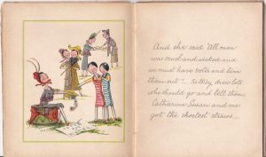 Votes for Catharine Susan and Me, illustrated children's book, 1910 © Working Class Movement Library