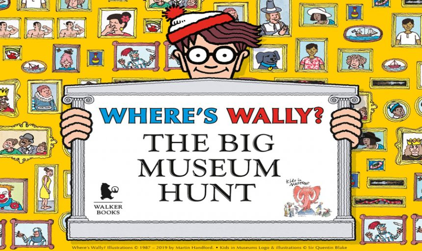 19 October – 3 November 2019, Where's Wally? The Big Museum Hunt @ People's History Museum