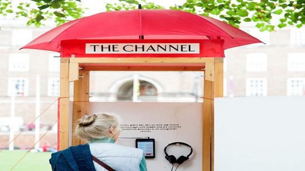5 - 13 October 2019, The Channel installation by Isobel Tarr @ People's History Museum