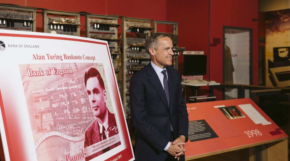 Bank of England Governor Mark Carney © Science Museum Group / Drew Forsyth