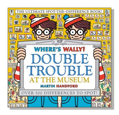 Where's Wally? Double Trouble at the Museum book cover