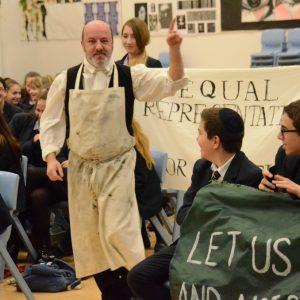 Peterloo Living History performance @ People's History Museum