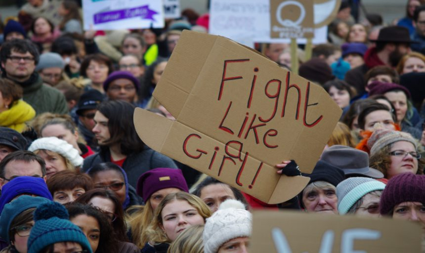 Women's March Manchester © Alessandra Forti