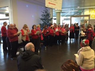 12 December 2019, Christmas Choir Performance @ People's History Museum