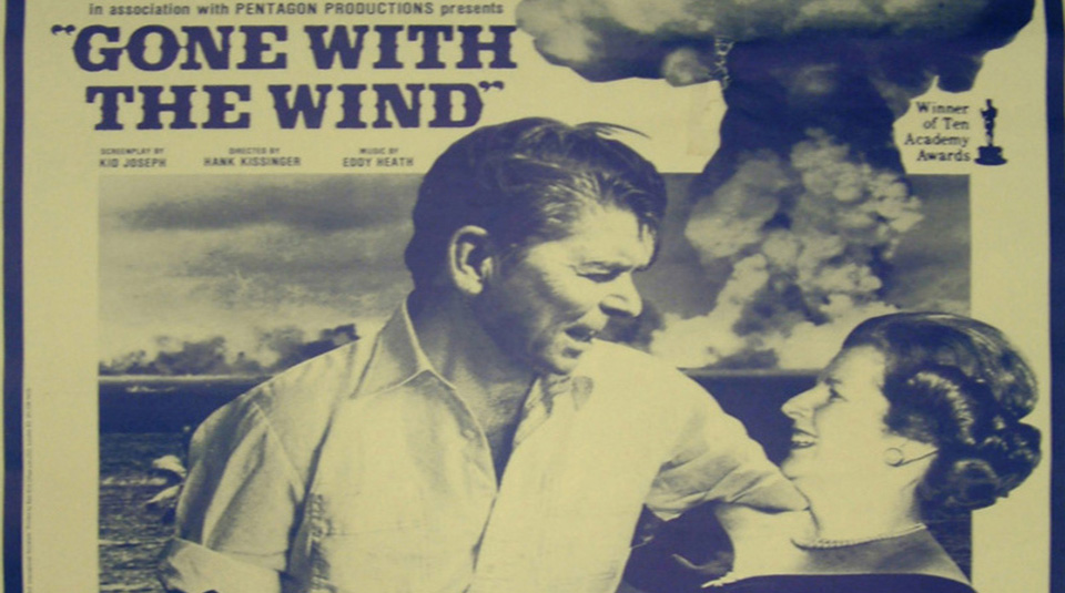 14 February 2019, Radical Relationships guided tour @ People's History Museum. Gone with the Wind poster, The Socialist Worker newspaper, 1980