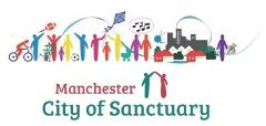 Manchester City of Sanctuary logo