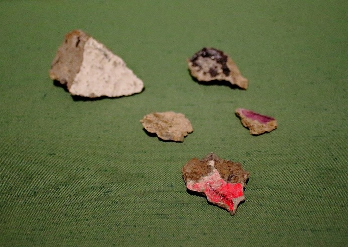 Pieces of Berlin Wall, 1989 © People's History Museum