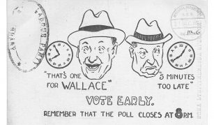 VOTE EARLY, December 1923 general election flyer © Archive & Study Centre @ People's History Museum