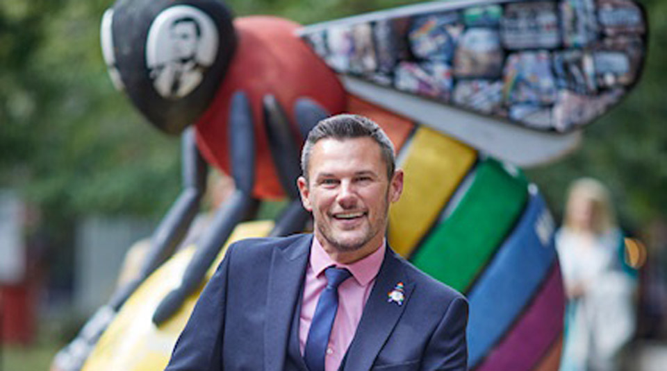 8 February 2020, From RAF to Mr Gay UK to Lord Mayor of Manchester to LGBT Advisor to the Mayor of Greater Manchester, part of OUTing the Past Festival @ People's History Museum © Carl Austin-Behan