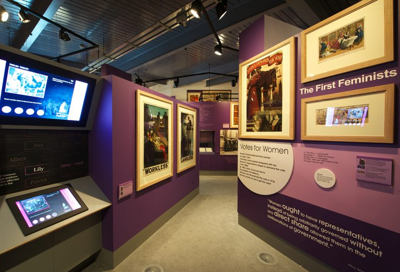 8 March 2020, International Women's Day guided tour @ People's History Museum