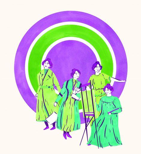 Essence Sylvia Pankhurst by Halah El Kholy