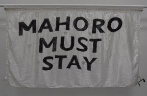 Mahoro Must Stay banner, 2007 © People's History Museum