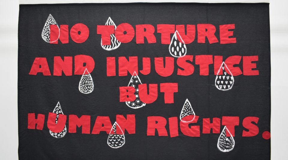 Revive Women's Group banner, 2019 © People's History Museum