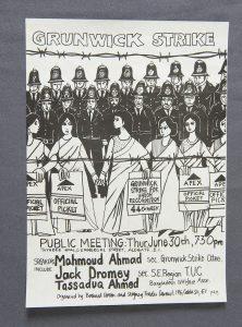 Grunwick strike poster, 1977 © People's History Museum